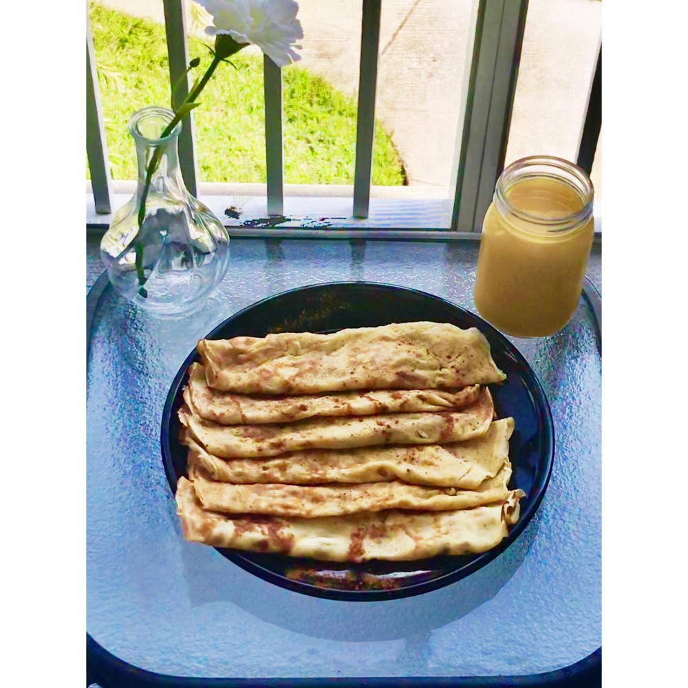 Ghanaian pancake cr pes kukua 39 s african cuisine for Angie s african cuisine